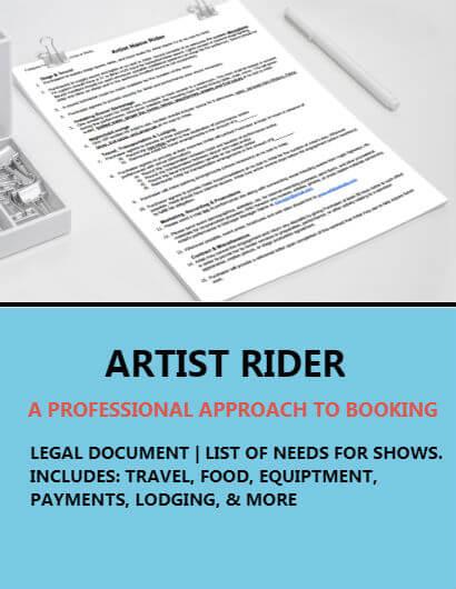 Artist Show Rider