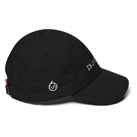 White Text Phase VI Hat