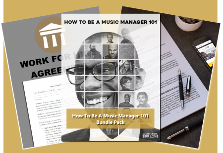 How To Be A Music Manager 101 Bundle Pack
